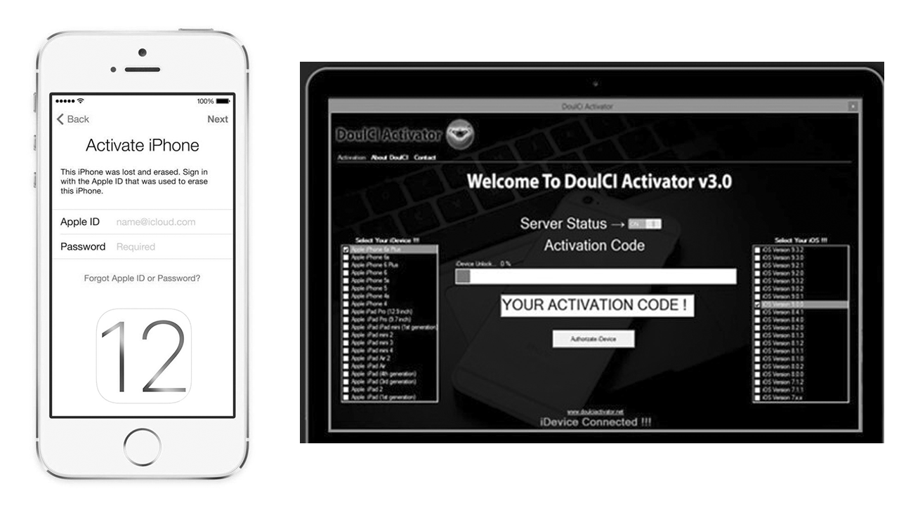 DoulCi Activator For iOS 12 - Free Download | Jailbreak